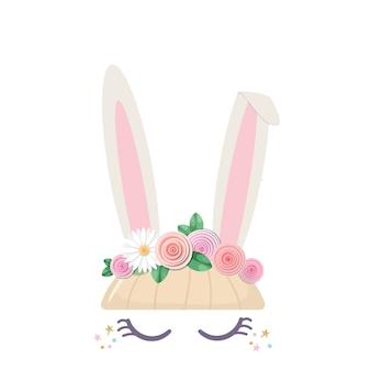 Bunny simpatico personaggio di catroon.