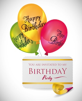 Buon compleanno design