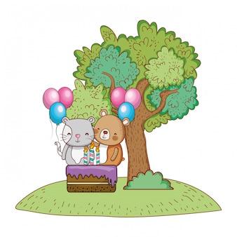 Buon compleanno simpatici animali
