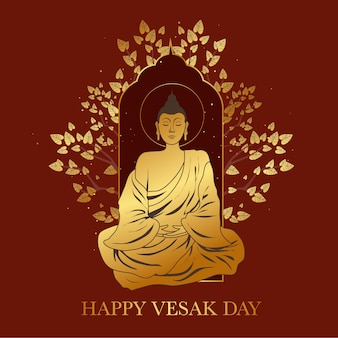 Buon design dell'evento vesak