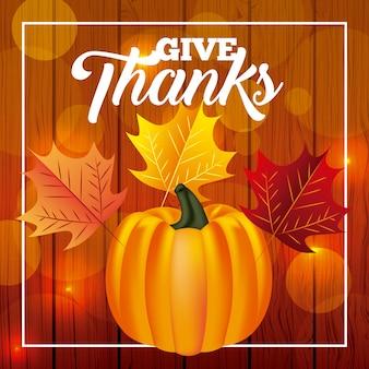 Buon giorno del ringraziamento
