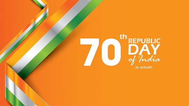 Buon giorno della repubblica indiana