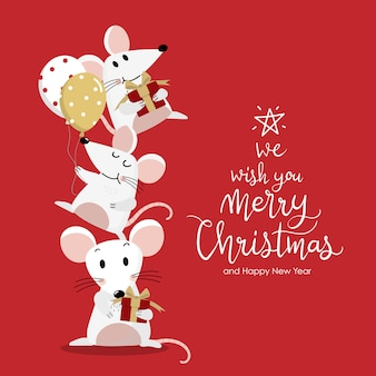 Buon natale e felice anno nuovo auguri.