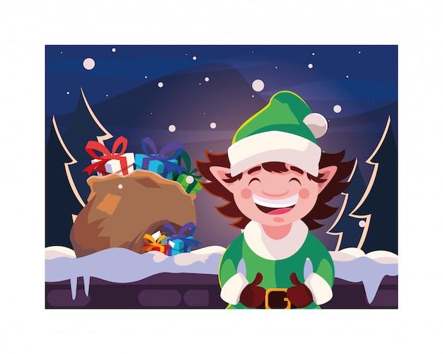 Buon natale elfo