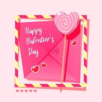 Buon san valentino caramelle