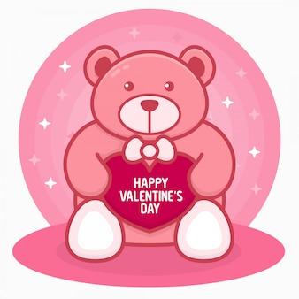 Buon san valentino orso