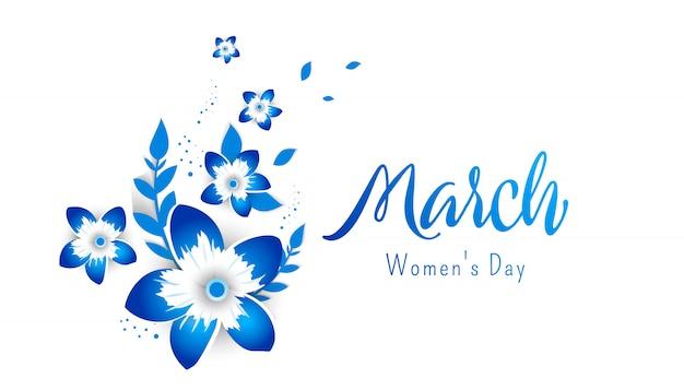 Buona festa della mamma. manifesto di progettazione del modello per la festa della mamma felice con i fiori luminosi.