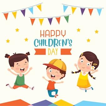 Buona giornata dei bambini