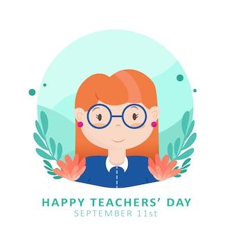 Buona giornata dell'insegnante