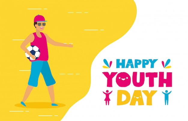 Buona giornata della gioventù