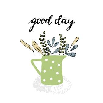 Buona giornata illustrazione