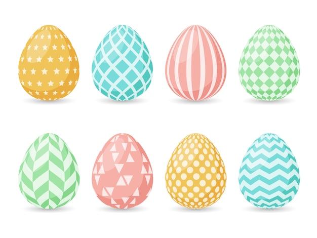 Buona pasqua. raccolta di uova di pasqua.