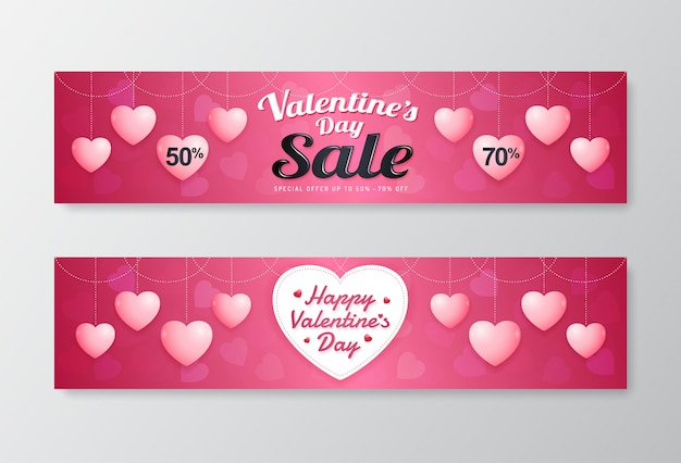 Buona vendita di san valentino