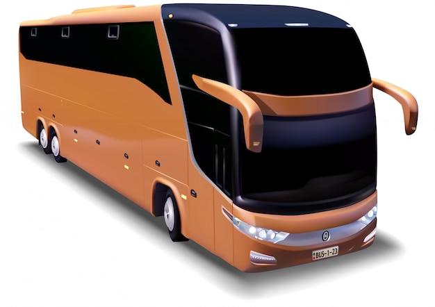 Bus turistico a lunga distanza