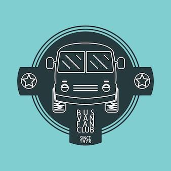 Bus van logo