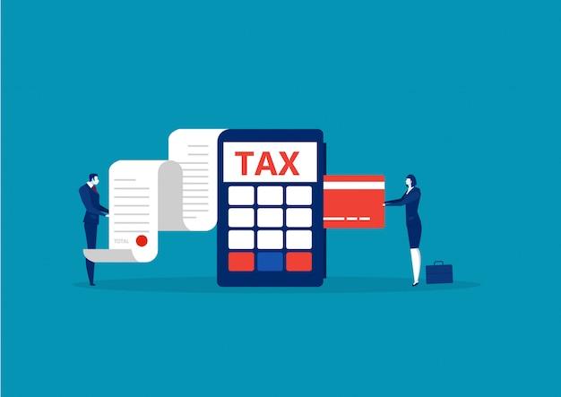 Business accetta la carta di credito per pagare le tasse