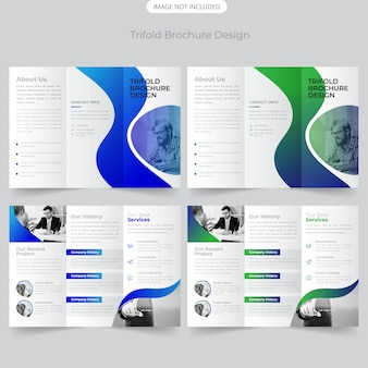 Business brochure design a tre ante
