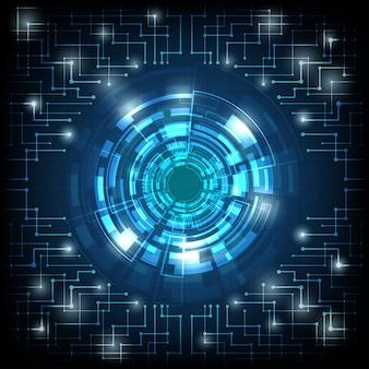 Business digitale tecnologia utilizzando come sfondo