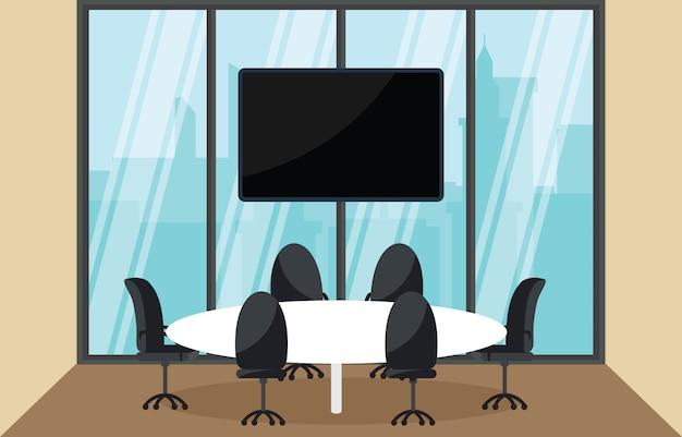 Business meeting per sala di lavoro in ufficio