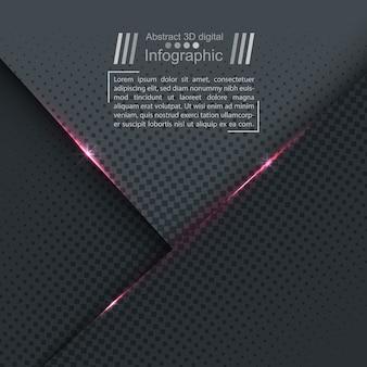 Business paper - sfondo origami
