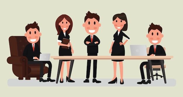 Business persone lavoro di squadra