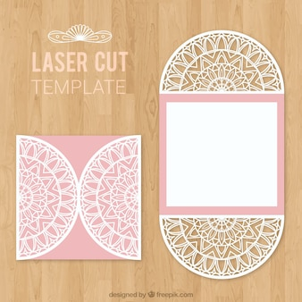 Busta tagliata a laser