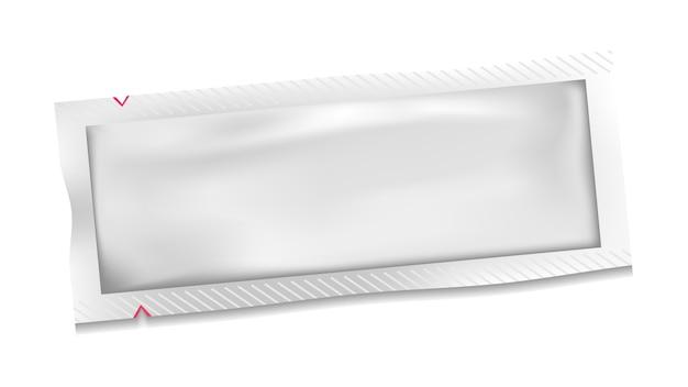 Bustina in plastica bianca in polietilene bianco