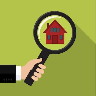 Caccia e ricerca della casa