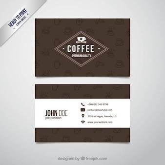 Caffè biglietto da visita
