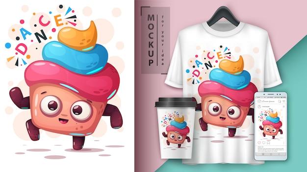 Cake dance e merchandising