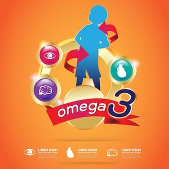 Calcio calcio e vitamine logo prodotti per bambini vettore