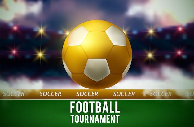 Calcio del fondo della tazza di campionato del mondo di calcio