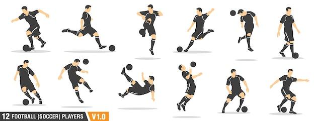 Calcio, giocatori di calcio