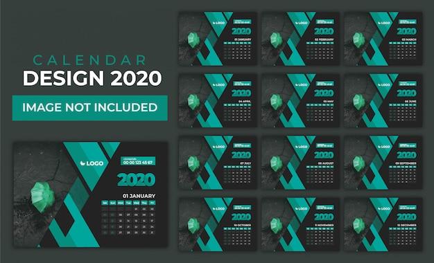 Calendario 2020 impostato