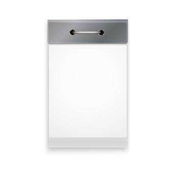 Calendario a strappo realistico isolato su sfondo bianco. elemento per il tuo design.
