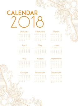 Calendario d'oro 2018