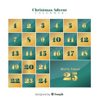 Calendario d'oro dell'avvento