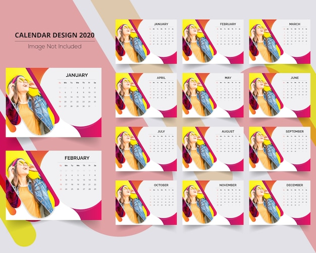 Calendario da scrivania creative sale 2020