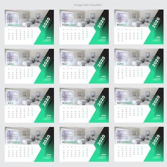 Calendario da scrivania interno 2020