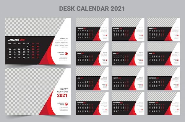 Calendario da tavolo 2021