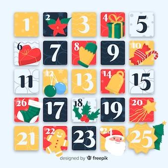 Calendario dell'avvento originale