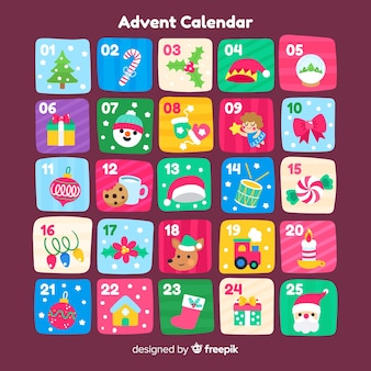 Calendario dell'avvento
