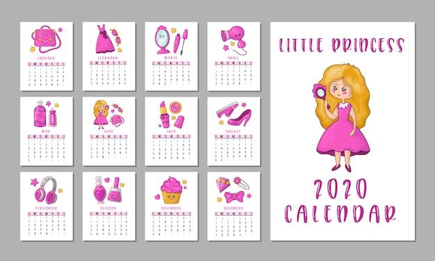 Calendario delle ragazze