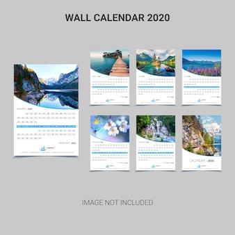 Calendario murale 2020