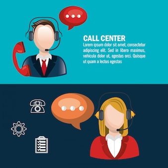 Call center design
