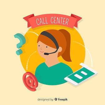 Call center lineare