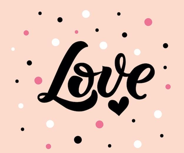 Calligrafia d'amore