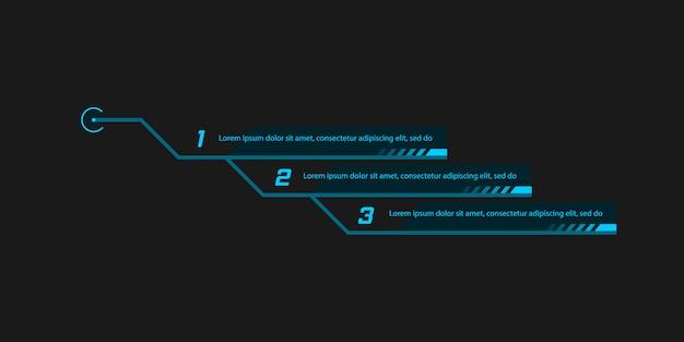 Callout, intestazioni per infografica, pubblicità.