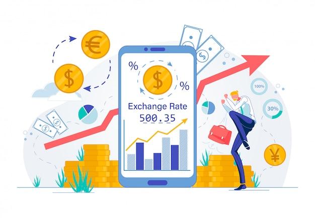 Cambio valuta o tecnologia di investimenti azionari.