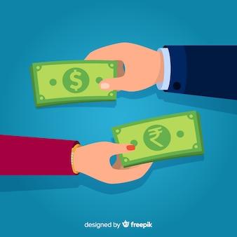 Cambio valuta rupia indiana